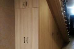 Встроенная мебель в лестницу